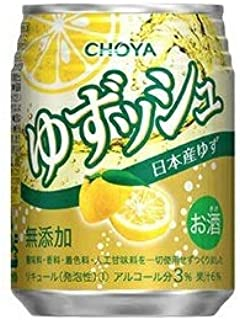 CHOYA チョーヤ ゆずッシュ 250mlx2ケース(48本)