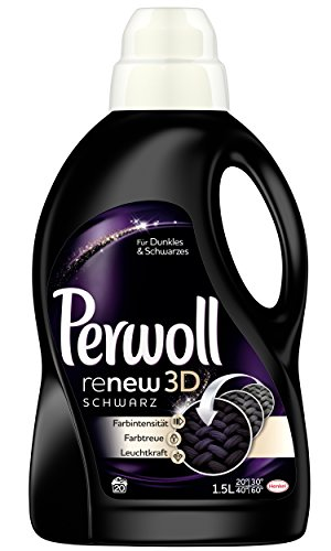 Perwoll Renew 3D, schwarz, Waschmittel, 4er Pack (4 x 1.5L)