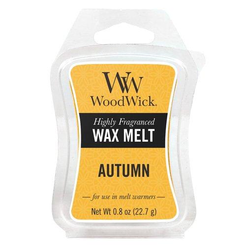 Woodwick Duftwachs zum Schmelzen Herbst 22.7 g, Plastik, gelb, 5.5 x 7.3 x 1.7 cm