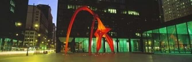 Posterazzi Alexander Calder Flamingo Chicago Illinois USA Poster Print (36 x 12)