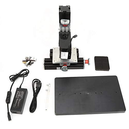 Save %9 Now! Drill Press 12VDC/ 2A/ 24W,Precision Mini Drill Press,Mini Metal Drilling Machineï¼...