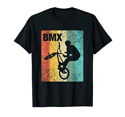 Vintage BMX Rider - Bike Bicycle Stunt Racing Gift T-Shirt