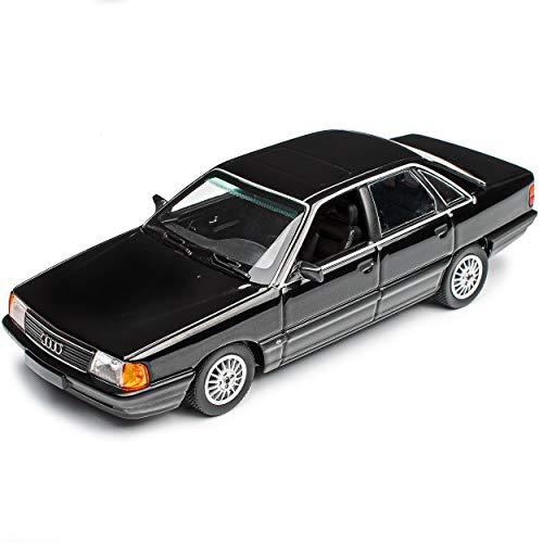 MAXICHAMPS A-U-D-I 100 4C Limousine Schwarz 1990-1994 1/43 Minichamps Modell Auto