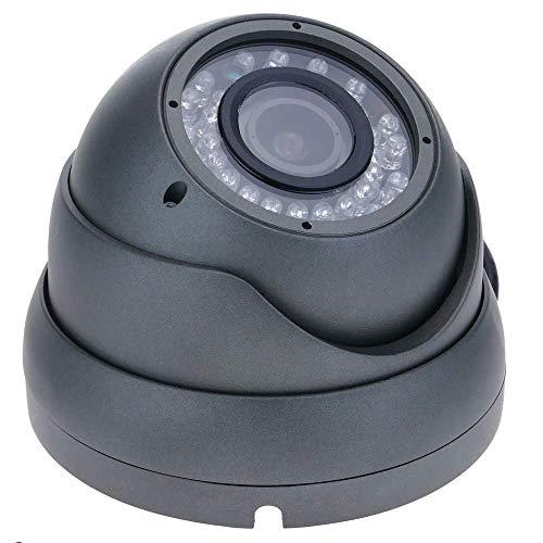 BeMatik - Cámara domo 700TVL metal 1/4 36 LED 85x118mm metálica