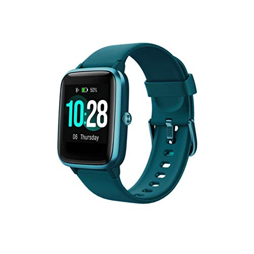 XXLL Smart Watch Multifunction Fitness Tracker 1.3' Touch Screen with Heart Rate/Sleep Monitor GPS Calorie Counter Pedometer Stopwatch for Kids Men Women,Green