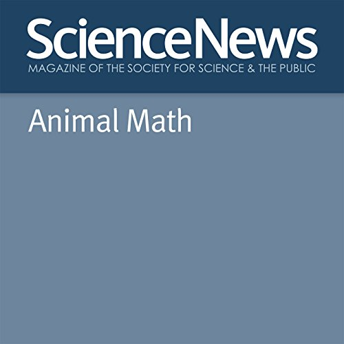 Animal Math audiobook cover art