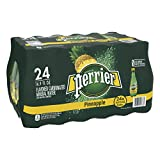 Perrier Pineapple Flavored Carbonated Mineral Water, 16.9 Fl Oz. Plastic Bottles (24Count), 16.9 Fl Oz