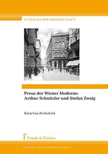 """Prosa der Wiener Moderne: Arthur Schnitzler und Stefan Zweig: Quellen, Vorbilder und Modelle in Thomas Manns \""""Doktor Faustus\"""" (Literaturwissenschaft)"""