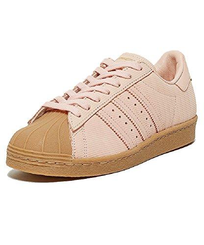 adidas Superstar 80s W Damen Sneakers Pink Originals (41,5)