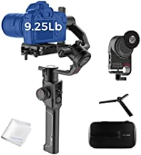 MOZA Air 2 Gimbal Stabilizer with iFocusM Motor 3-Axis Handheld Stabilizers 8 Follow Modes for DSLRs Mirrorless Pocket Cinema Cameras 9lbs Payload 16h Running Time Include SoftCase