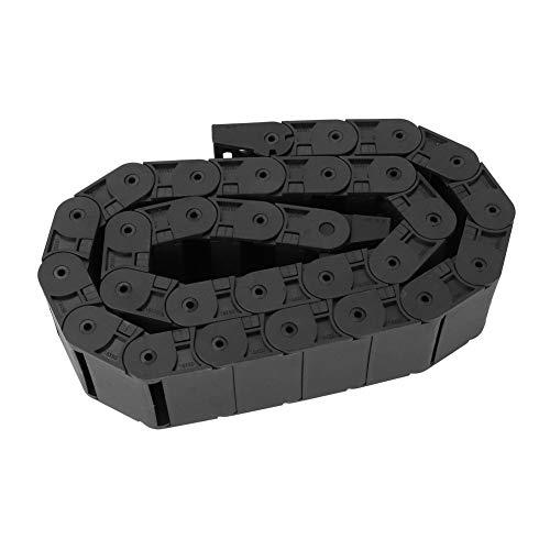 Catena portacavi in nylon - 1 metro R38 Portacavi in nylon nero per catena portacavi per stampante 3D Macchina CNC 18x50mm