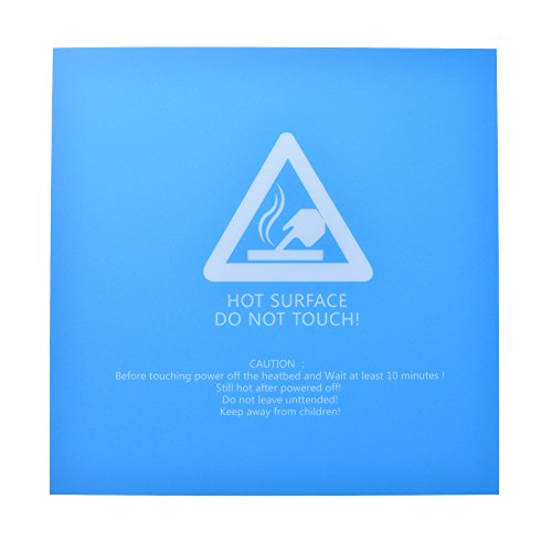 220x220mm 3D Printer Hotbed Build Plate Surface Sticker Heated Bed Sheet Cover Blue