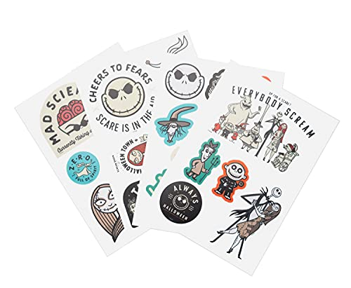 ERIK - Pegatinas para portátiles Pesadilla antes de Navidad, Disney, 32 stickers