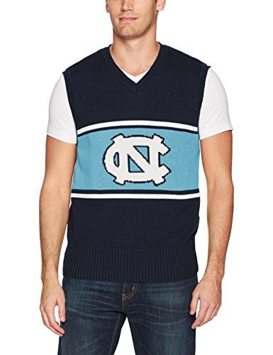 OTS NCAA Herren Sweater Weste, Herren, Sweater Vest, Logo, Large