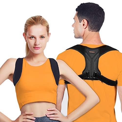 Corrector Postura Espalda, Corrector de Espalda y Hombros para Hombre y Mujer, Espalda Recta M/L 2 Tamaños para Una Postura Saludable, Corrector de Postura para Aliviar el Dolor Espalda, M
