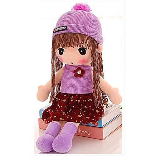 Dfngiq La muñeca de Juguete de llenado de muñecas Lindas se le da al niño cumpleaños Presente