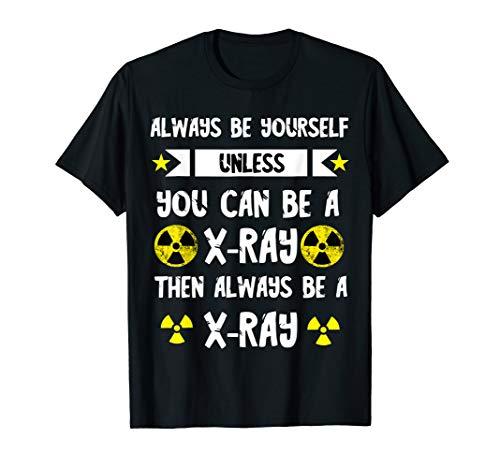 X-Ray Röntgenstrahlen Radiologie Nuklear Atomkraft Radiologe T-Shirt