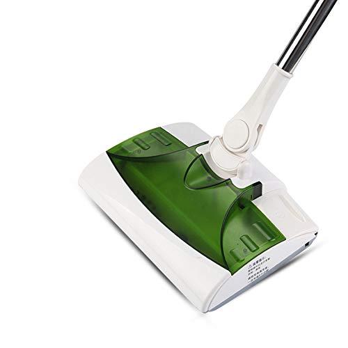 L@CR Escoba eléctrica para Piso 2 en 1 – Escoba inalámbrica Recargable con Mango de Longitud Ajustable 360 Grados para alfombras y Suelos de Madera