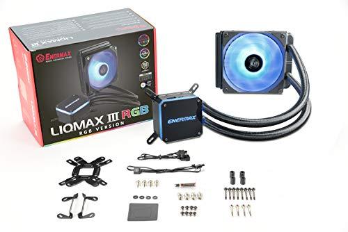 Liqmax III RGB 120 Schwarz