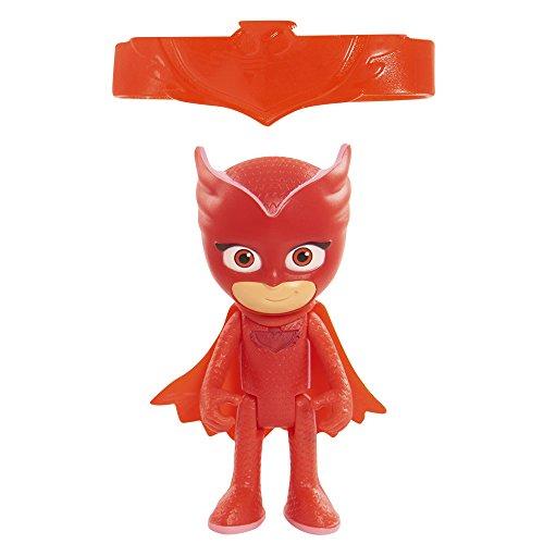PJ Masks – Figurine avec lumière Bibou rouge - version espagnole