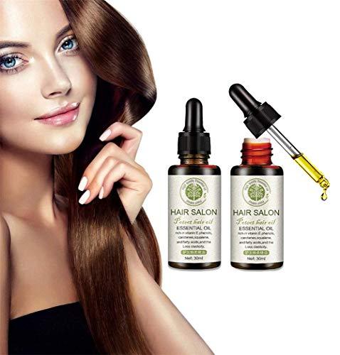 Hair Regrowth Serum Hair Salon, Hair Growth Huiles Essentielles Fibre Re-grow Solution, Hair Growth Serum Anti Hair Loss Essence, Hair Salon Essential Oil (2pcs)