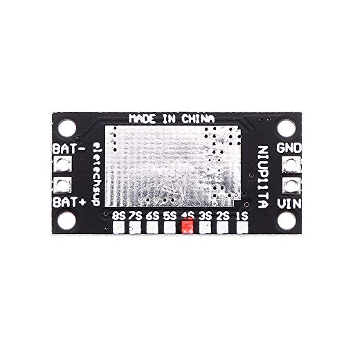 Módulo electrónico 4S NiMH NiCd cargador de batería recargable de carga de entrada Junta Módulo DC 5V 10pcs Equipo electrónico de alta precisión