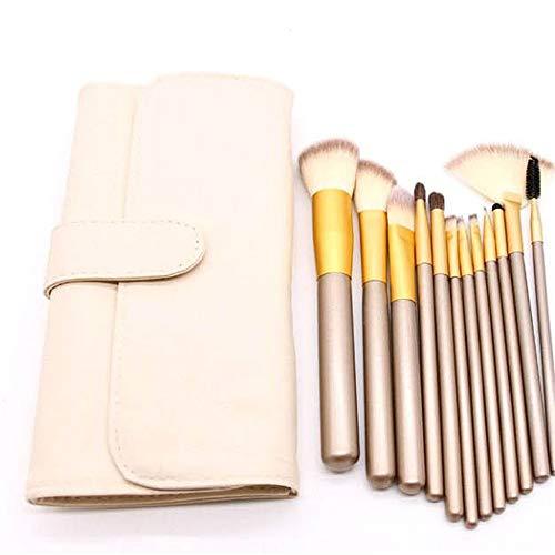 12 18 24 Maquillage Brosse Ensemble Rice White Eye Shadow Brush Outil De Maquillage 20Cm 12 Ans, États-Unis