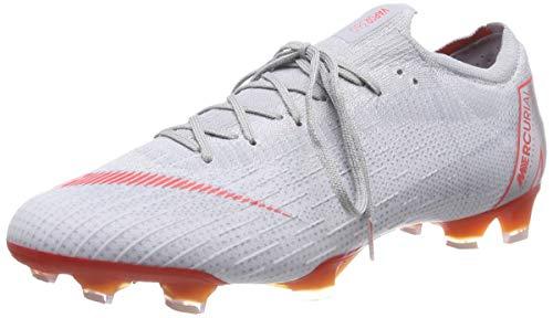 Nike Unisex-Erwachsene Vapor 12 Elite Fg Sneakers, Mehrfarbig (Wolf Grey/Lt Crimson/Pure Platinum 060), 45.5 EU