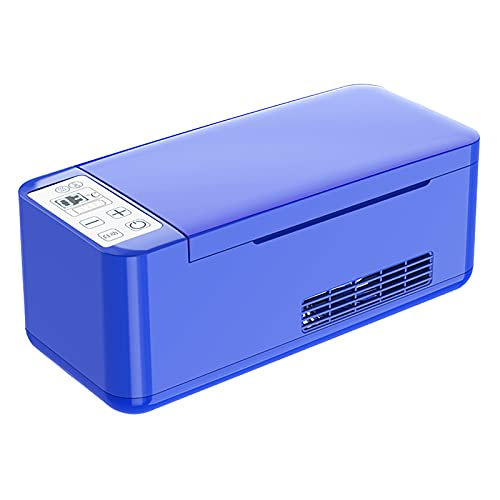 WDAA Enfriador de Insulina Portátil Caja Refrigerada Pantalla LCD Caja de Enfriador de Insulina Refrigerador Portátil Coche Refrigerador Pequeño Mini Cajas Frías Refrigerador Portátil de Medicamentos