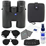 POWERFUL BINOCULARS: Lightweight binoculars with 10x magnification for quality images, 110 m field of view at 1,000 m and a subject viewing angle of 60 degrees WATERPROOF: The waterproof casing makes these binoculars a reliable companion even in extr...