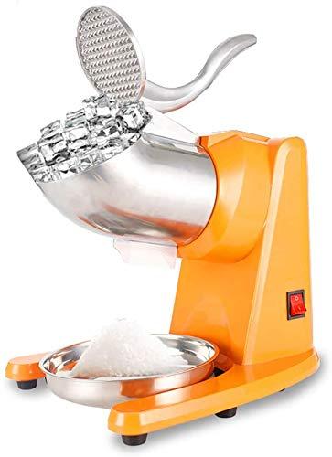 Trituradora eléctrica de doble hoja 500W verstelbaar Gemalen ijsdikte Geschikt voor thuis en zakelijk gebruik