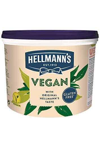 Hellmann's Vegane Mayo Alternative zu Mayonnaise, Mayo ohne Ei, 1er Pack (1 x 2.5 kg)