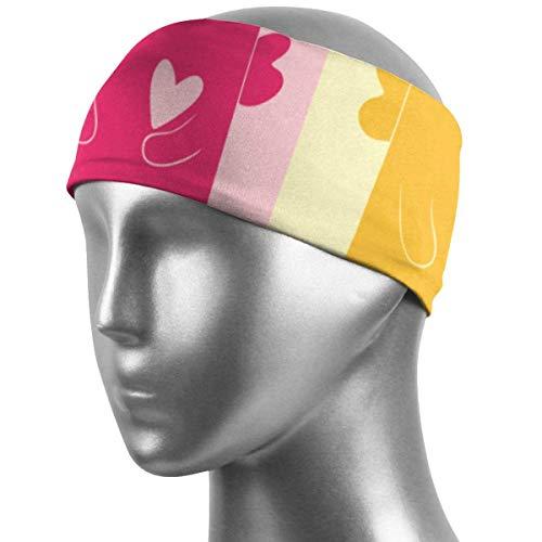 CHISHANG Banda para el cabello unisex Banda para el sudor deportiva Gatos Diadema deportiva para correr, andar en bicicleta y hacer ejercicio