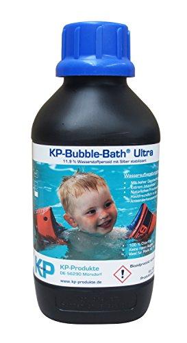 KP-Bubble Bath® Ultra Chlorfreies Wasseraufbereitungsmittel 11,9% H2O2 für Pool und Planschbecken (1.000 ml)