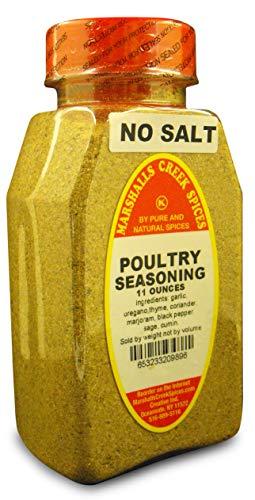 Marshalls Creek Kosher Spices, (st07), POULTRY SEASONING NO SALT 11 oz