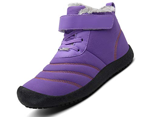 SINOES Weiblich 019 Klassische Stiefeletten Walkingschuhe Winterstiefel Biker Boots Violett 37 EU