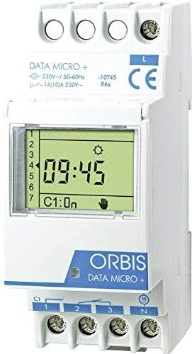 Orbis Data Micro Plus 230 V Interruptor horario Digital de