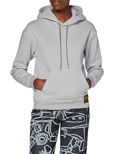 G-STAR RAW Damen Premium Core Hooded Sweater, Grey Htr C235-906, M