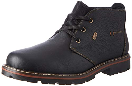 Rieker Herren 37722 Mode-Stiefel, schwarz, 42 EU