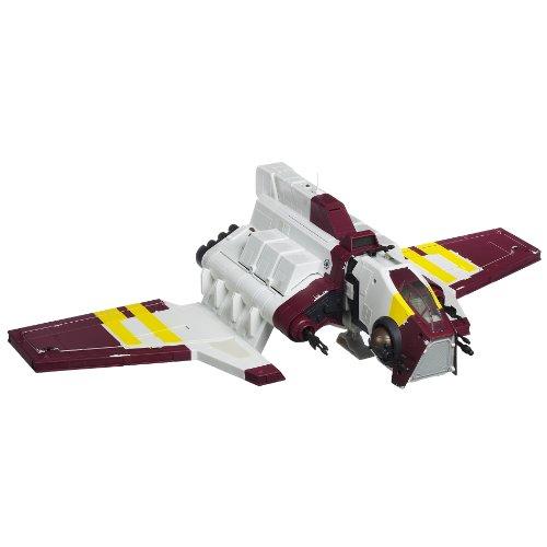 Hasbro Star Wars Deluxe Republic Attack Shuttle