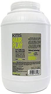 KMS HAIRPLAY Styling Gel Flake-Free, Glossy Shine & Firm Hold, Long-Lasting Control, Unisex, 128 oz