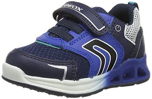 Geox Baby-Jungen B Dakin Boy A Sneaker, Navy/ROYAL, 26 EU