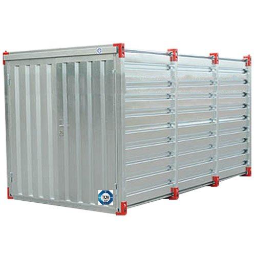 *Baucontainer Garage Container Lagercontainer Gerätecontainer Blechcontainer mit TÜV Größe (S) 3m x 2,2m x 2,2m*