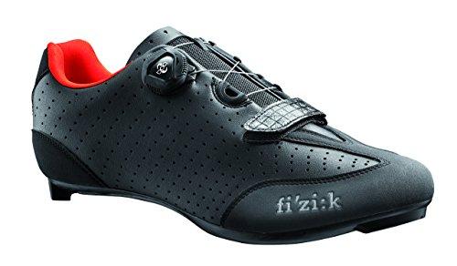 Fizik R3B Rennradschuhe Herren schwarz/rot Größe 44 2017 Spinning-Schuhe MTB-Shhuhe