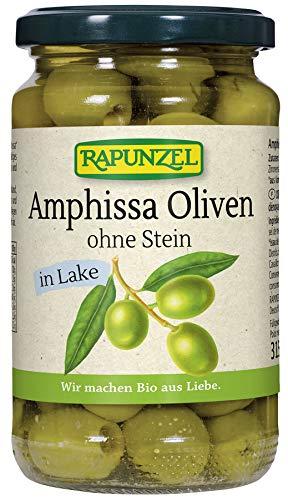 Rapunzel Bio Oliven Amphissa grün, ohne Stein in Lake (6 x 315 gr)