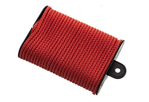"attwood 11700-2 Neon Colored Diamond Braided Polypropylene Marine Utility Cord, 1/8"" Diameter x 45' Long"