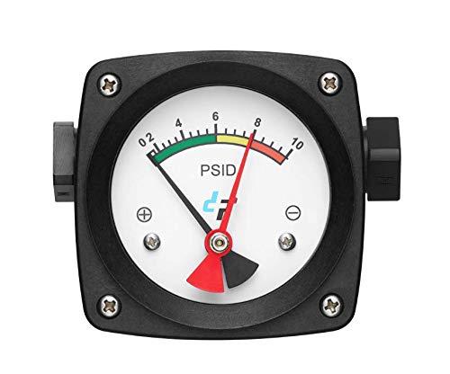 filterSHIELD 10 PSI Differential Pressure Gauge for Filter Status