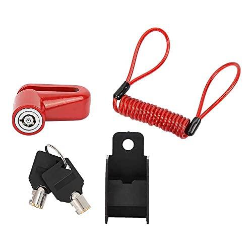 junmo shop Freno antirrobo Rou-Lette de alambre de acero para la vespa eléctrica Mijia M365
