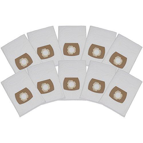 10 Premium Staubsaugerbeutel passend für Bauhaus Herkules Inox 20 MS