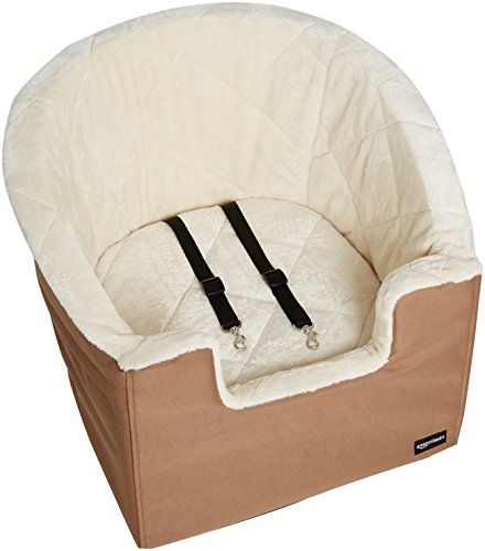Amazon Basics Pet Car Booster Bucket Seat - 18 x 18 x 16 Inches